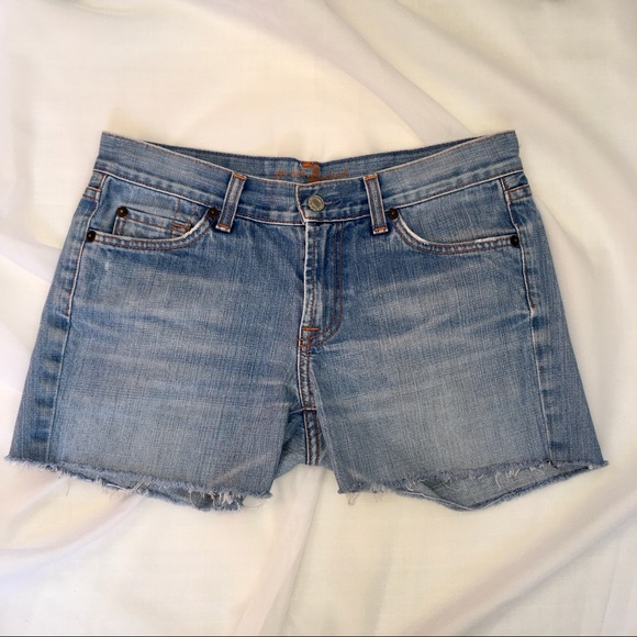7 For All Mankind Pants - 7 FOR ALL MANKIND light wash Shorts